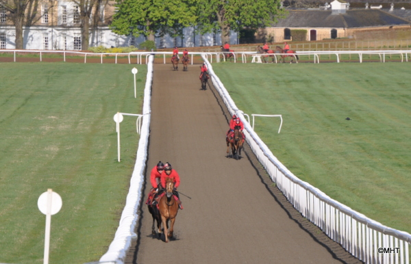 30_-_first_lot_coming_up_Warren_Hill_polytrack